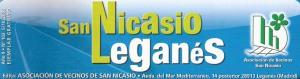Logo Revista San Nicasio Leganés