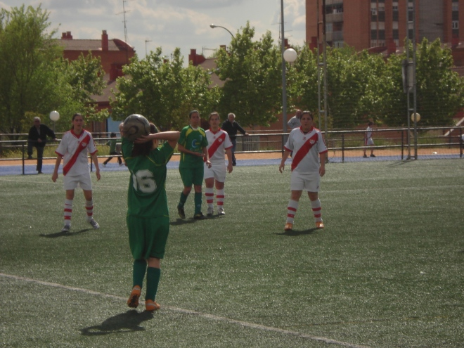 "Rayo Vallecano ""A"" - CD San Nicasio ""B"""