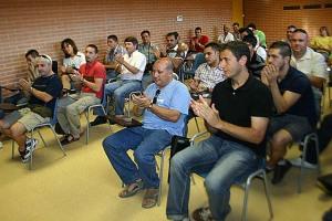 Clausura del Curso de Monitor de Fútbol Base