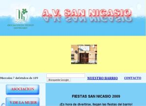 Pagina Web (www.avsannicasio.com)
