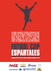 Cartel de la Espartales Cup 2010