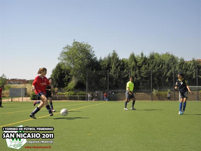 Torneo Fútbol Femenino San Nicasio 2011