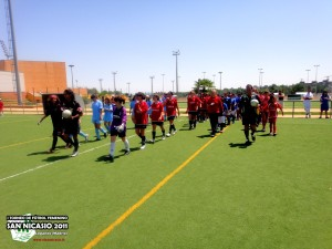 I Torneo de Fútbol Femenino San Nicasio 2011
