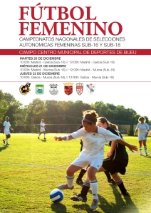 Cartel I Fase Campeonato Selecciones Autonómicas Sub18 Femeninas Galicia 2011