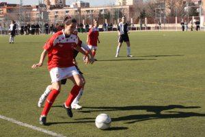 Rocio Zafra con la Selección Madrileña Sub18
