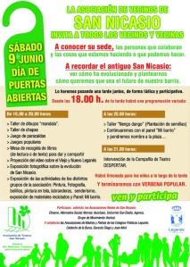 Cartel Día de Puertas Abiertas 2012
