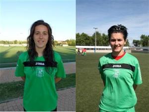 Selección Sub-18 Rocío y Andrea