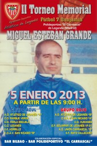 Cartel II Torneo Memorial Miguel Esteban Grande