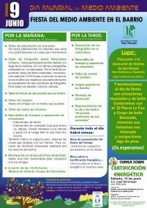 Cartel Día Internacional del Medio Ambiente 2013 AV SAN NICASIO