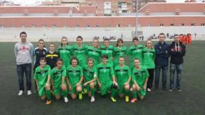 Plantilla Femenino C Sub-16 13-14