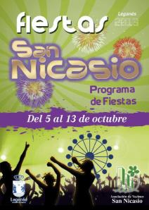 Programa Fiestas San Nicasio 2013