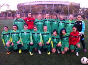 Plantilla Femenino Sub-16 13-14