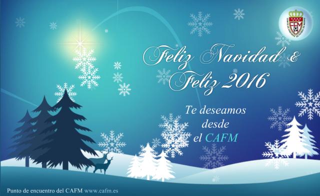 Felicitación Navidad 2015 Comite de Arbitros de Madrid