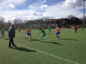 C.D. San Nicasio - Atlético de Madrid Femenino D
