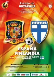 cartel-seleccion-futbol-femenino-espana-finlandia
