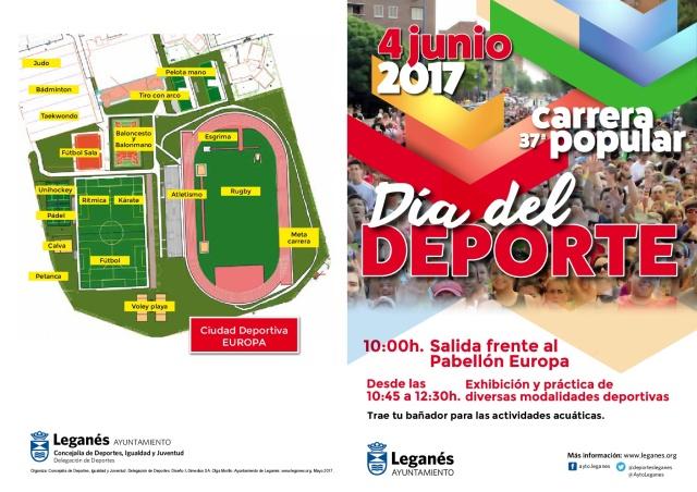 Díptico 37 Carrera Popular de Leganés y Día del Deporte 2017 (1)