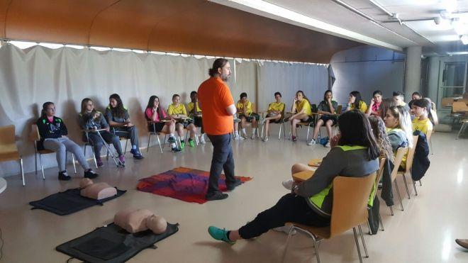 Taller Practico Leganes en RED respuestas ante emergencias deportivas Prevenkids (5)