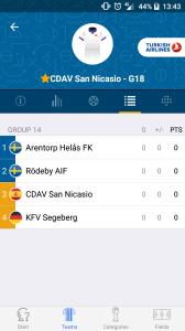 Gothia Cup App para el movil o tablet